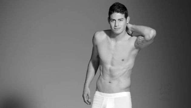 James Rodríguez imagen de marca de ropa interior