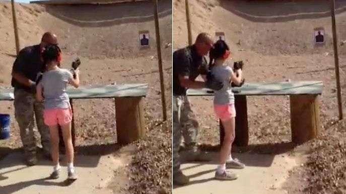 Una niña dispara y mata accidentalmente a su instructor ...