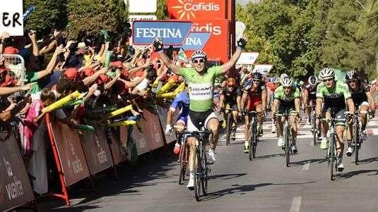 Degenkolb repite y se queda con la quinta etapa de la Vuelta