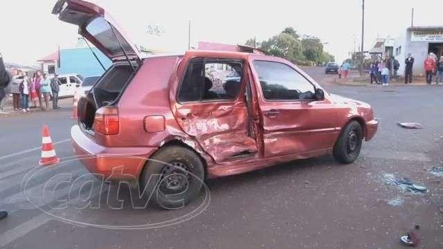 Homem fica ferido em acidente no 14 de Novembro