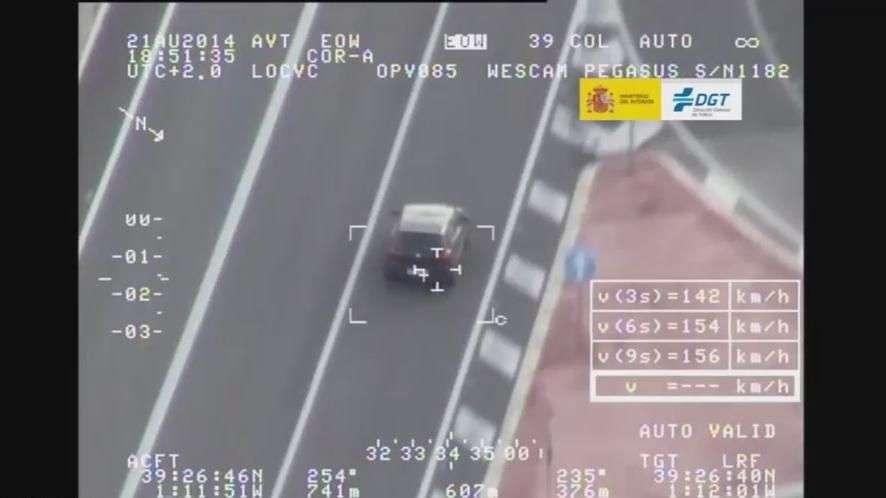 Cazados con exceso de velocidad