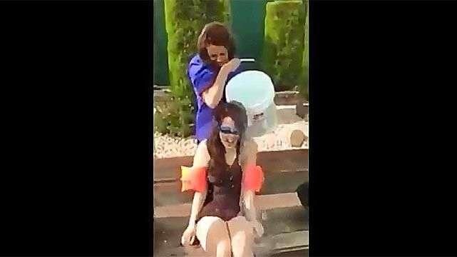El desafío del balde de agua helada más doloroso de todos