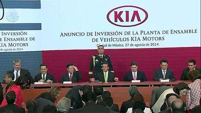 Surcoreana Kia llega a México