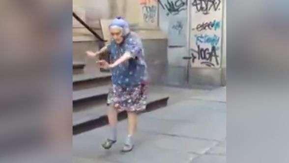 ¡Se pasó! Abuela bailarina sorprende a la web con pasos