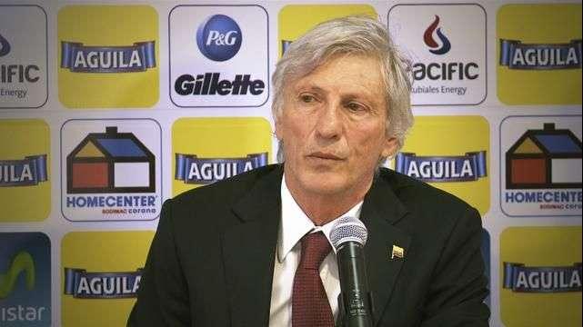 Pékerman y el desafío de seguir con la selección Colombia