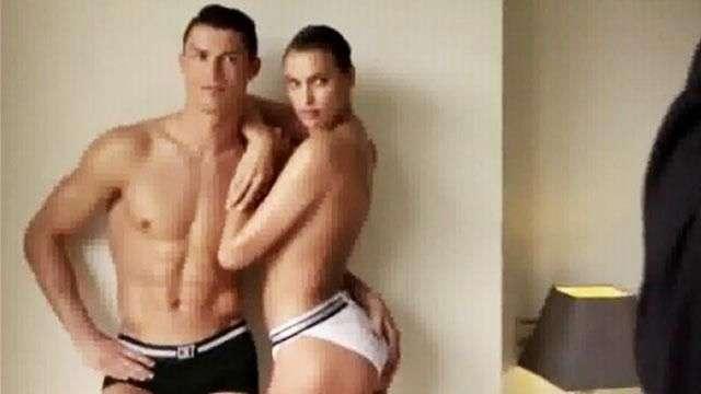 Cristiano Ronaldo e Irina Shayk, semidesnudos para Vogue