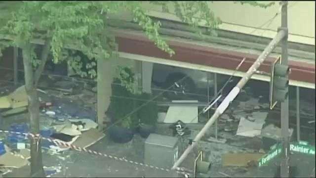 Car Crashes Into Seattle Hair Salon