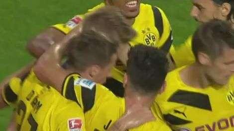 Veja os gols de Augsburg 2 x 3 Borussia Dortmund pelo Alemão