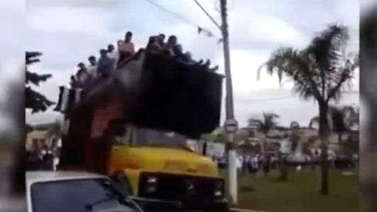 Celebración en Brasil termina abruptamente y en tragedia