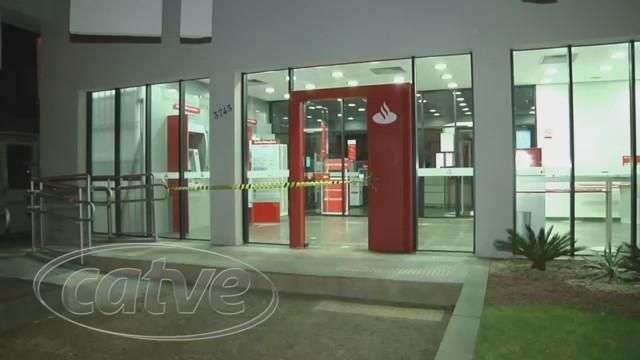 Quadrilha é detida após arrombar agência bancária no Centro