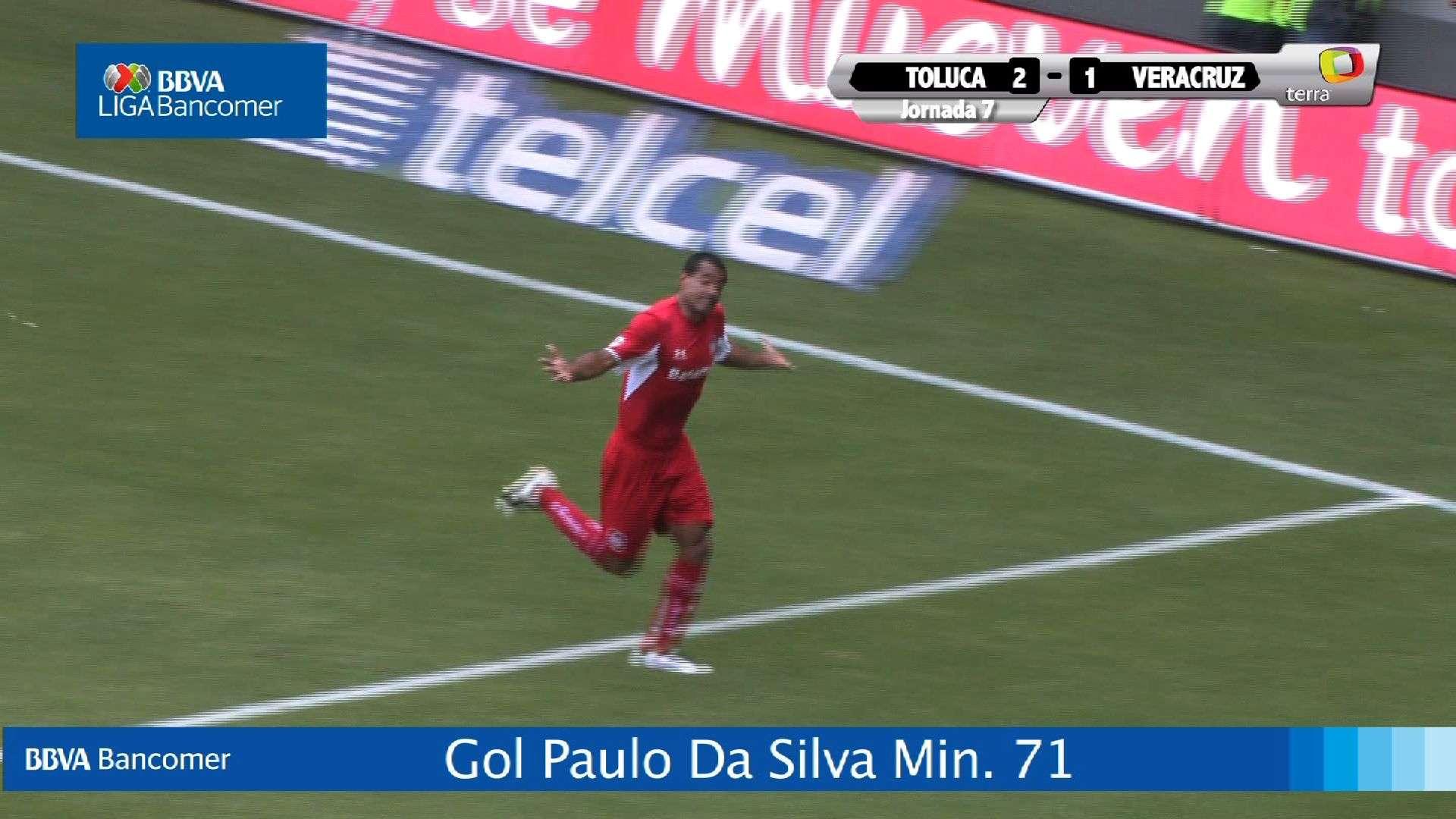 Jornada 7 Toluca 2 - 1 Veracruz