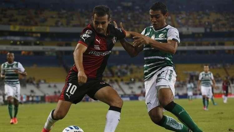 Jornada 7, Atlas 1-1 Santos, Liga Mx, Apertura 2014