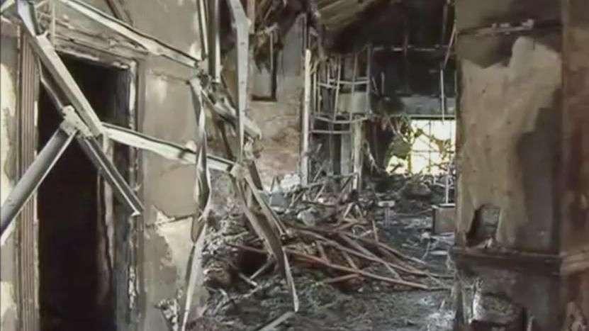 Veja estragos causados na sede do Shakhtar após bombardeio