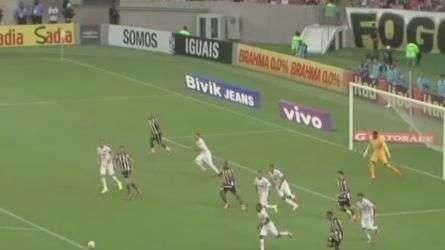 Veja o gol de Botafogo 1 X 0 Santos pelo Brasileirão