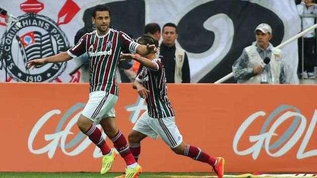 Veja os gols de Corinthians 1 x 1 Fluminense pelo Brasileiro