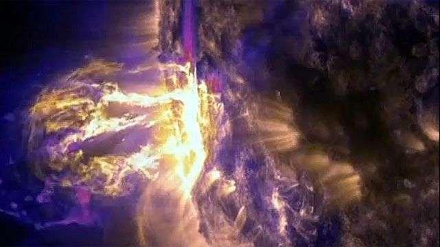 Espectaculares imágenes de las últimas erupciones solares