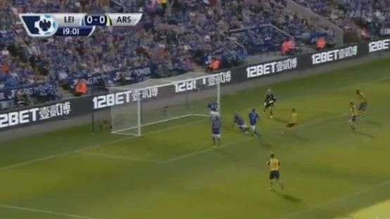 Alexis Sánchez marca su segundo gol por el Arsenal