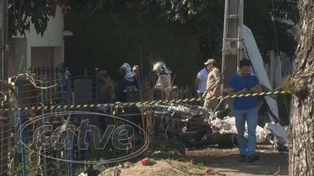 Queda de avião: moradora de casa atingida diz que temia acidentes
