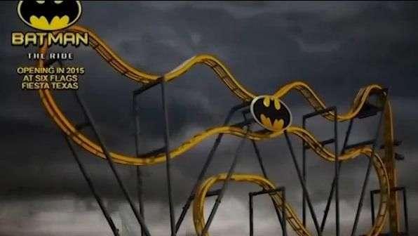 Batman: la nueva y terrorífica montaña rusa 4D