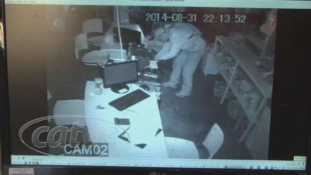 GDE divulga imagens de suspeito de furto em loja no centro