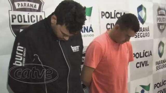 DEDC prende dupla que roubava carga em Curitiba