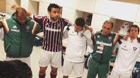 Saiba como Fred motivou Flu para enfrentar o Corinthians