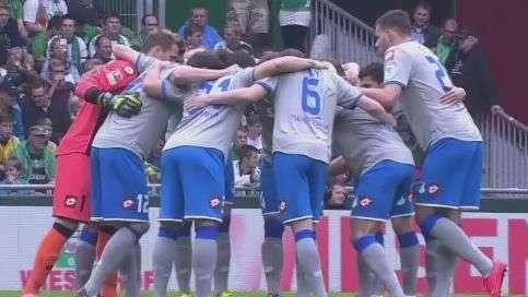 Veja lances de Werder Bremen 1 x 1 Hoffenheim pelo Alemão