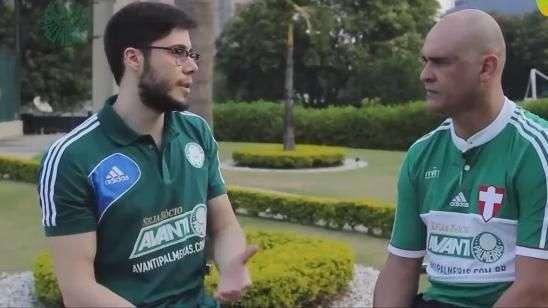 Marcos diz a torcedor que ainda há amor a camisa no futebol