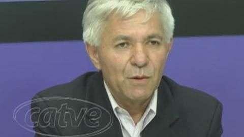 Candidato ao governo do estado, Geonisio Marinho esteve em Cascavel