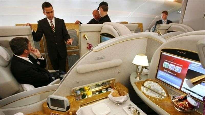 Emirates, la aerolinea más lujosa del mundo