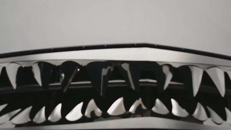 Video: Corvette Stingray Shark Jaws C7 2014