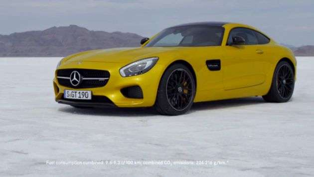 Video: Mercedes-AMG GT