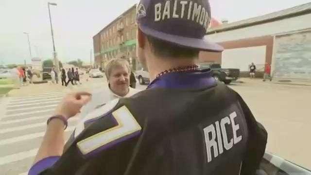 Fans Debate Rice Scandal As Ravens Play Steelers