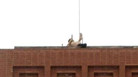 Captan a pareja teniendo relaciones en azotea de edificio