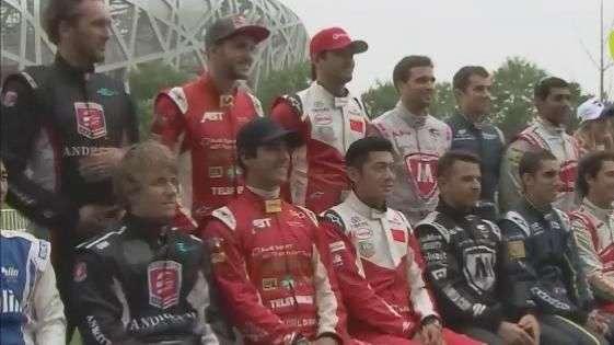 Com Nelsinho e Bruno Senna, nova categoria estreia na China
