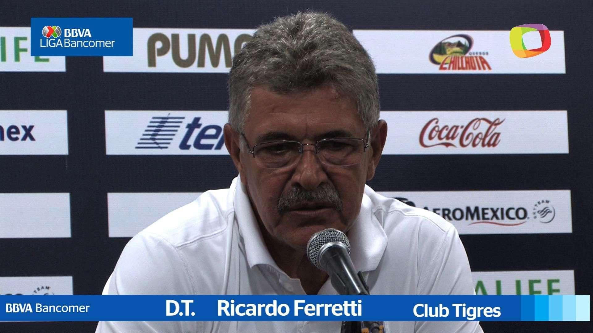 Jornada 8 Ricardo Ferretti, Pumas 2-2 Tigres, Apertura 2014