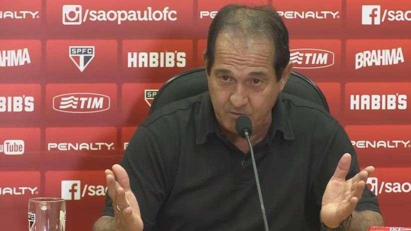 """Muricy Ramalho alerta dirigentes: """"ninguém tem que se meter"""""""