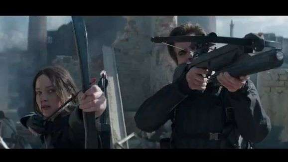 Checa el nuevo tráiler de 'The Hunger Games: Mockingjay – Part 1'