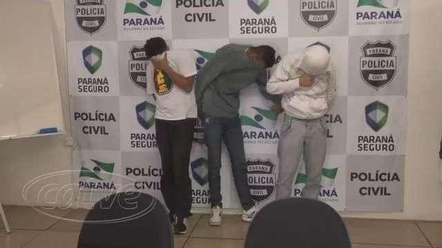 Três bandidos são presos logo após assaltarem loja em Curitiba