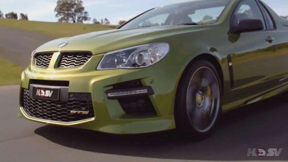 Video: HSV GTS Maloo