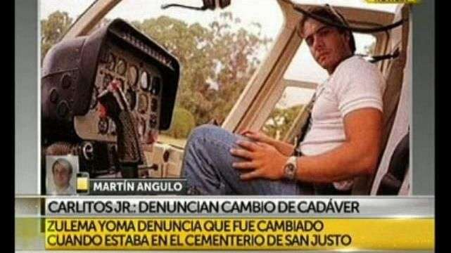 Carlitos Jr: denuncian cambio de cadáver
