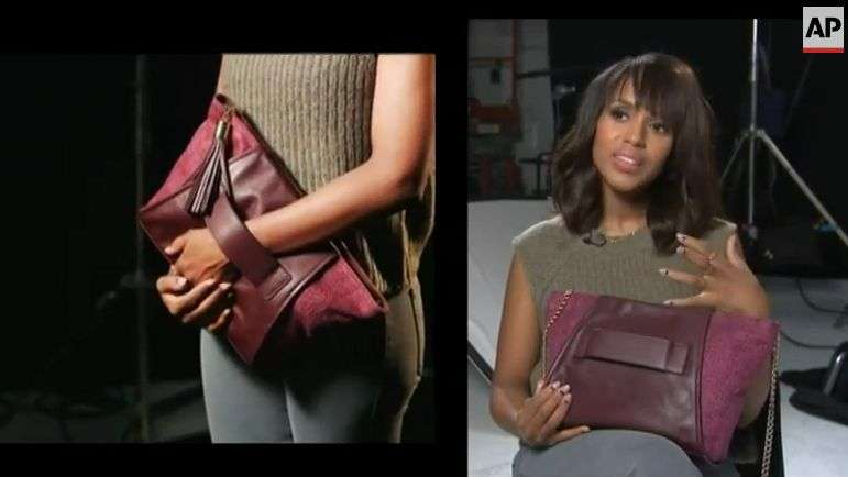 'Scandal' actress Kerry Washington talks domestic violence
