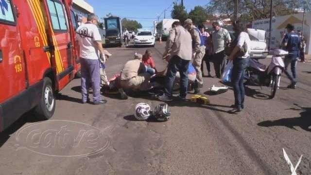 Duas pessoas ficaram feridas em acidente na JK com Recife