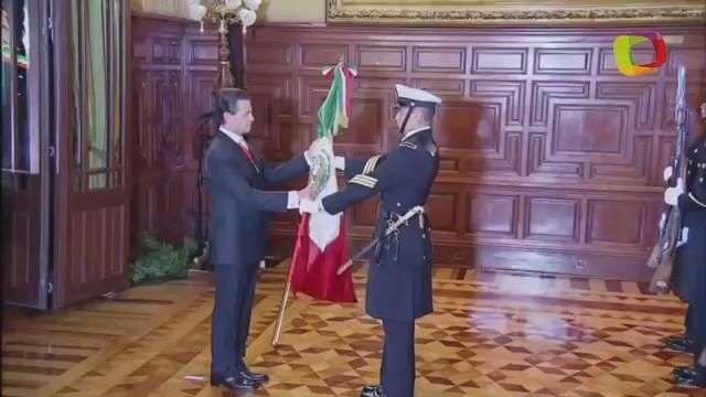 Enrique Peña Nieto da el Grito de Independencia