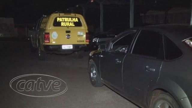 Patrulha Rural recupera veículo roubado em Curitiba