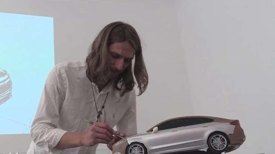 Así se modela un coche con arcilla