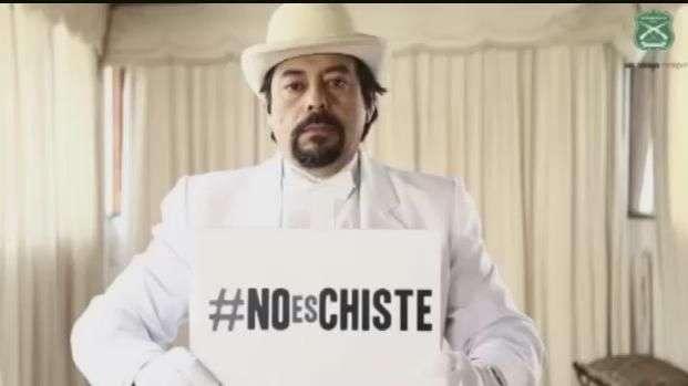 """""""No es chiste"""" la nueva campaña de Carabineros"""