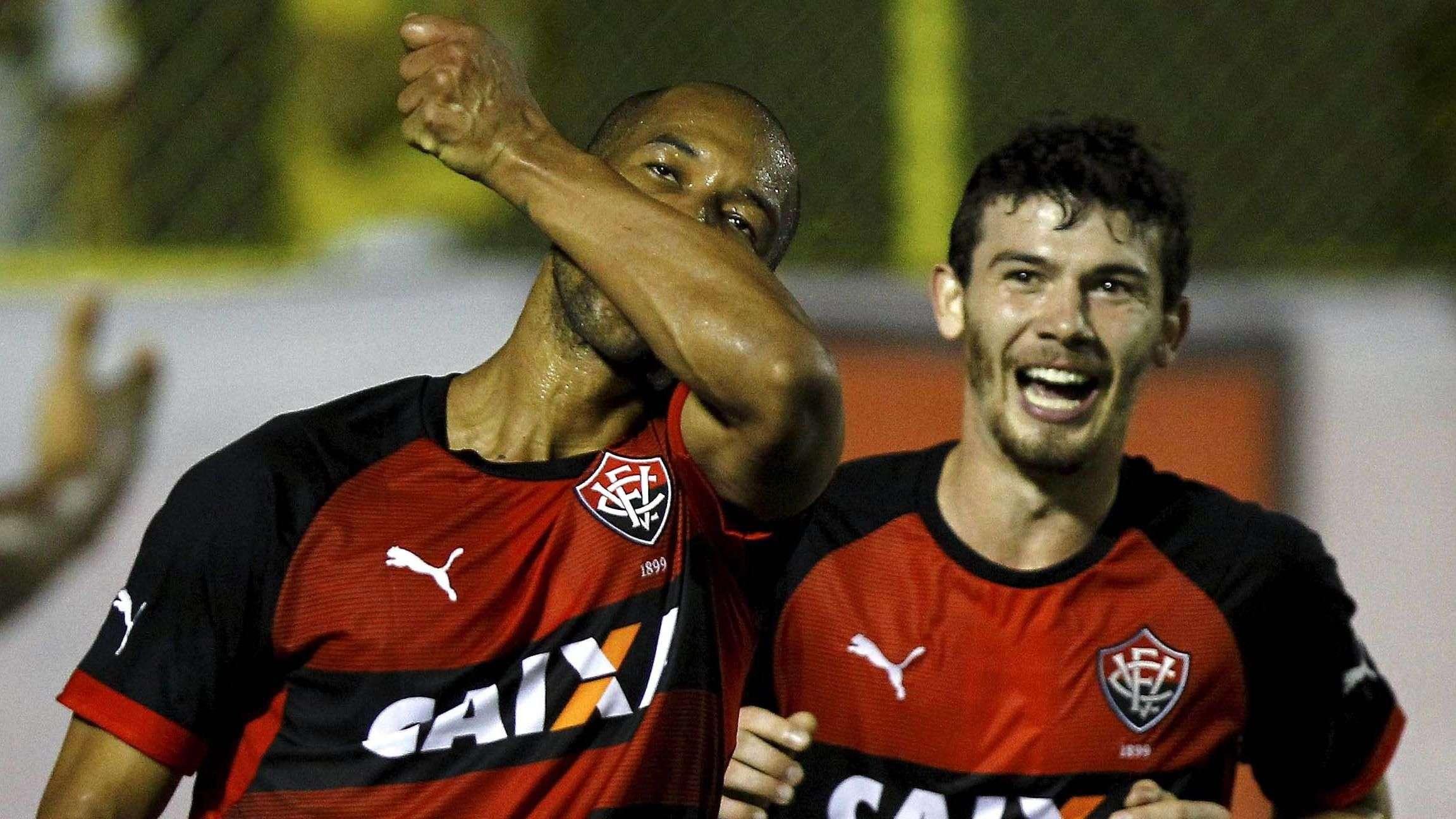 Veja os gols de Vitória 3 x 1 Fluminense pelo Brasileiro