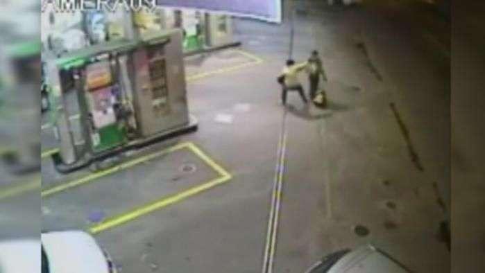 Bandido salva morador de rua de explosão em São Paulo