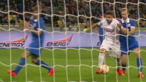 Veja o gol de Dnipro 0 x 1 Inter de Milão pela Liga Europa